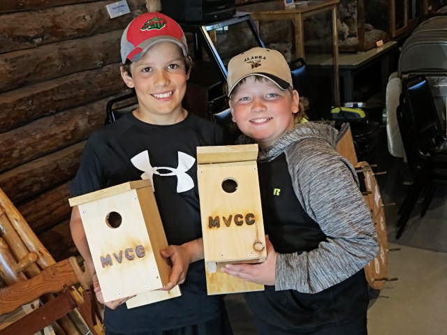 Mantrap Valley Conservation Club Birdhouse Build